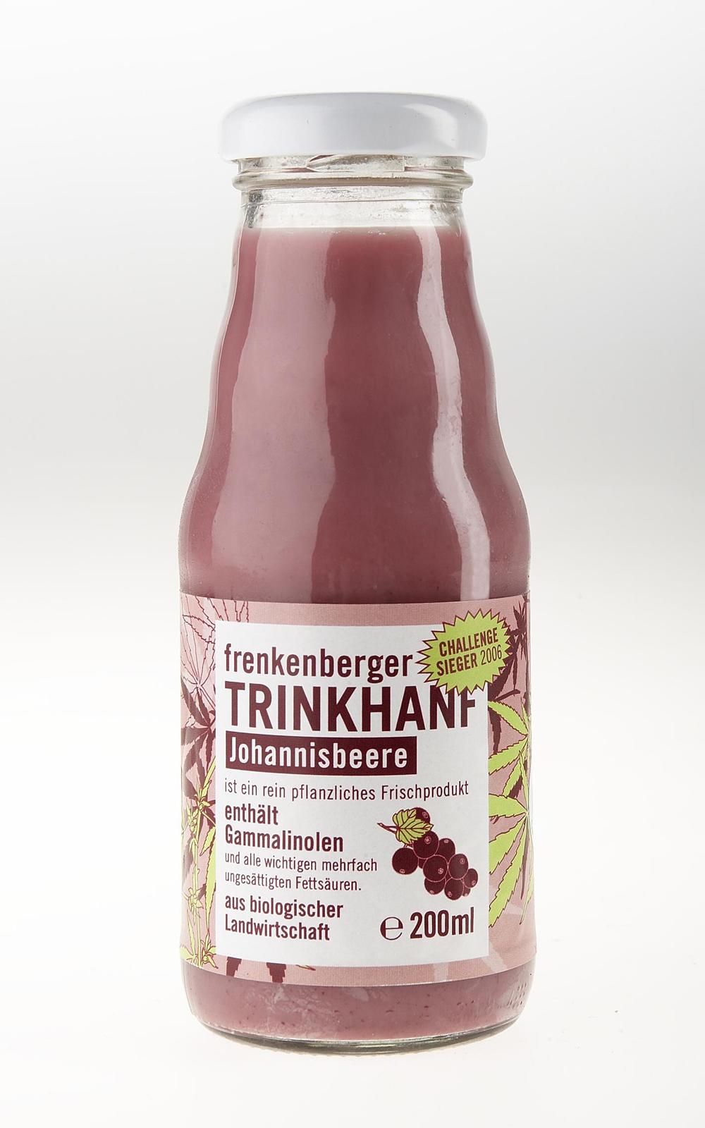 Frenkenberger Christians geniale Hanfmilch
